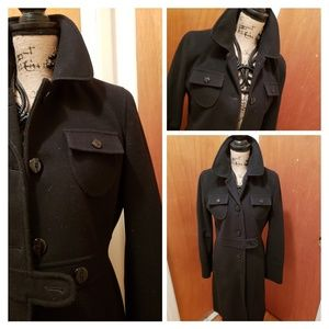 KENNETH COLE REACTION~Wool Trenchcoat